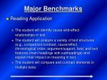 major benchmarks3