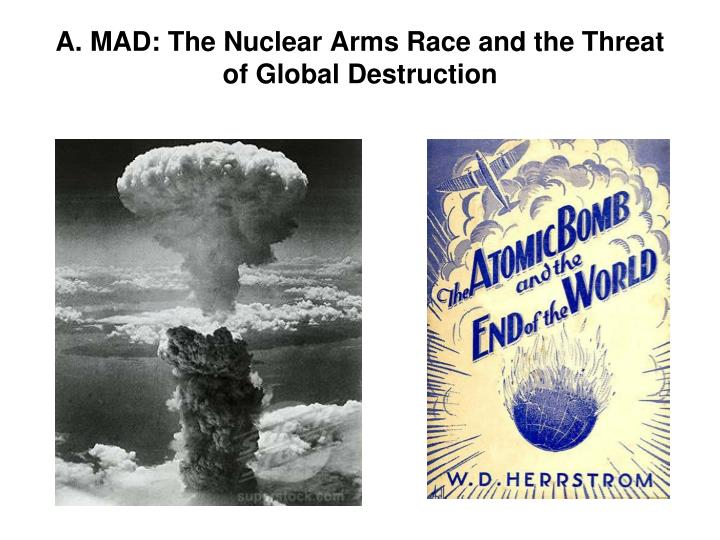 the nuclear arms race did