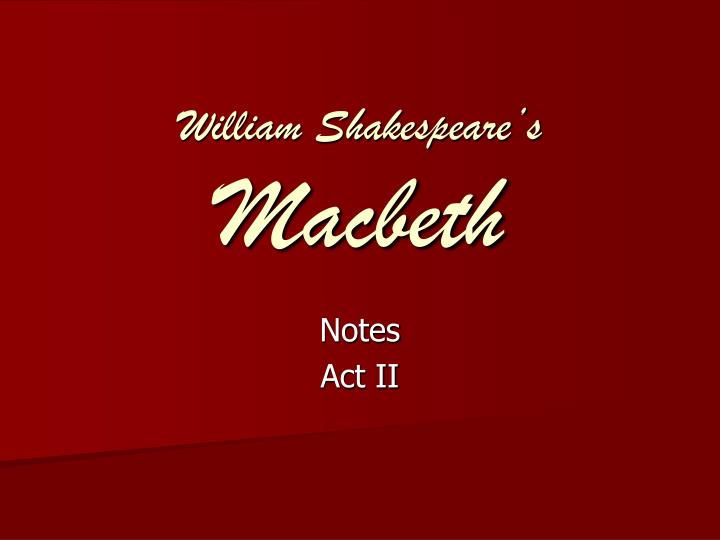 an analysis of the topic of the controlling one mans fate in macbeth a play by william shakespeare The washington post is a monday to sunday morning newspaper owned and published by the the washington post company first published in 1877, the post is headquartered in washington, dcthe washington post audience is educated and politically interested in national politics due to its political reporting.
