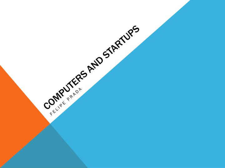 computers and startups n.