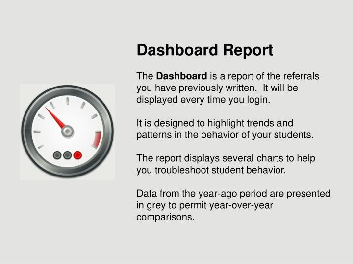 Dashboard Report