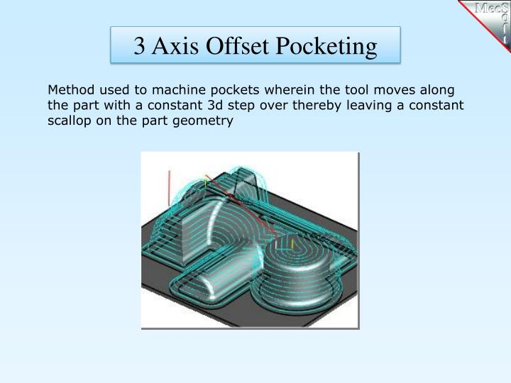 3 Axis Offset Pocketing