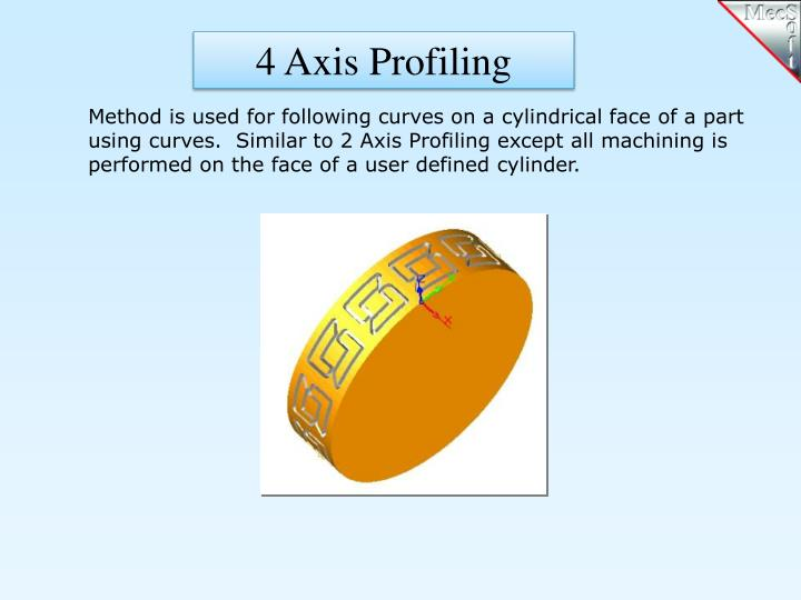 4 Axis Profiling