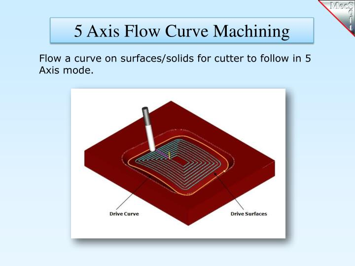 5 Axis Flow Curve Machining