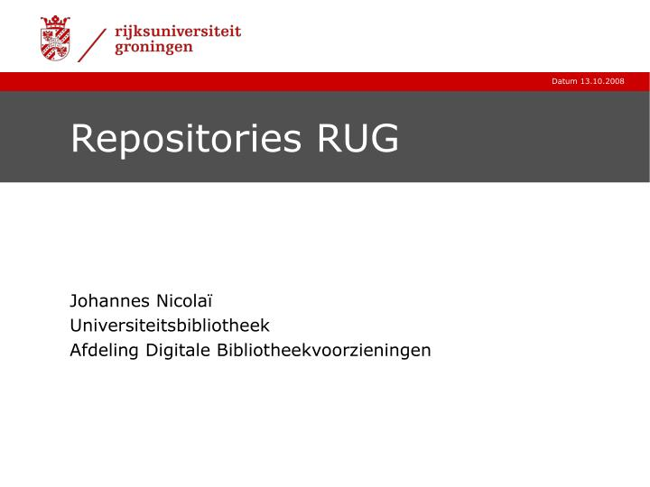 Ppt Repositories Rug Powerpoint Presentation Id3143455