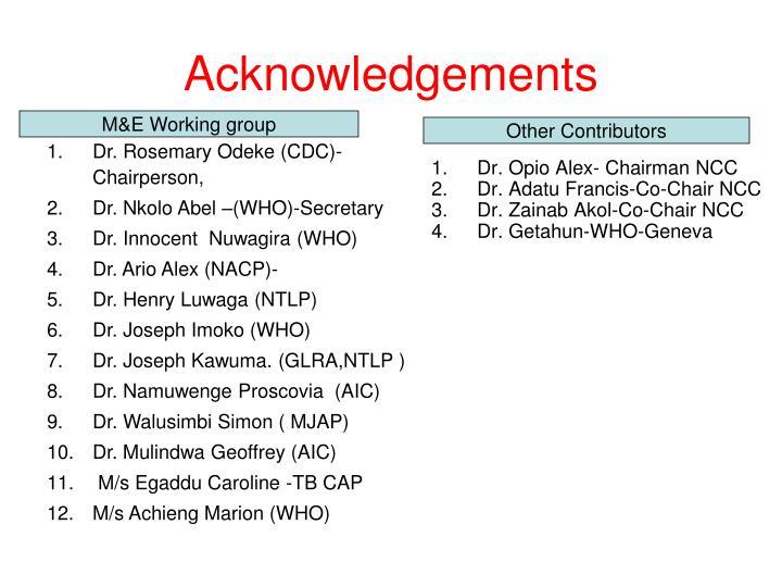 Dr. Opio Alex- Chairman NCC