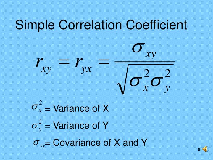 = Variance of X
