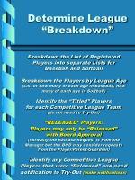 determine league breakdown