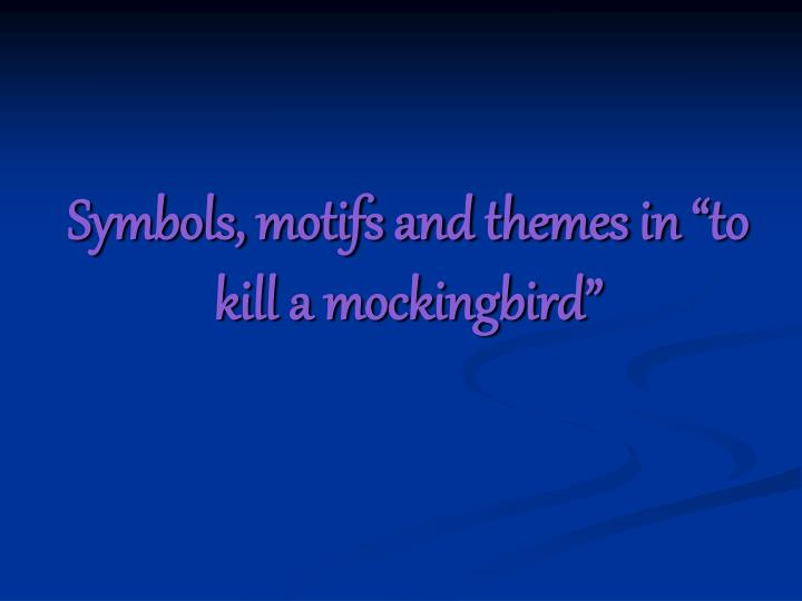 theme in to kill a mockingbird Harper lee taps on students' shoulders, and students respond plan your 60-minute lesson in english / language arts or theme (reading comp) with helpful tips from julianne beebe.