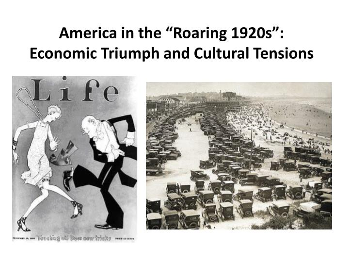 1920s tension The 1920s: prosperity and cultural tensions world war i and the jazz age galenet online 16 dec 2007.