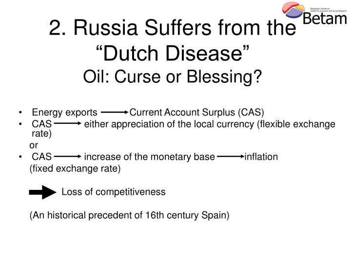 oil and dutch disease