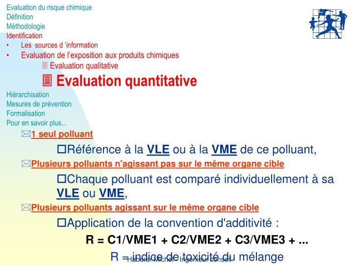 Evaluation du risque chimique