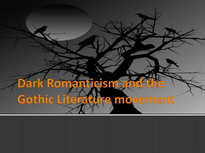 the gothic imagination essays in dark romanticism Essay on elements of romanticism in frankenstein 649 words jun 20th where he is isolated from life, and nature dark elements are evident in frankenstein's.
