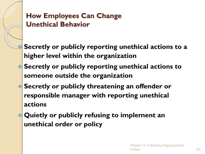How Employees Can Change