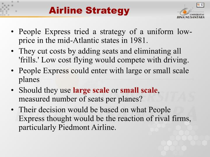 Airline Strategy