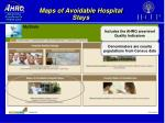 maps of avoidable hospital stays