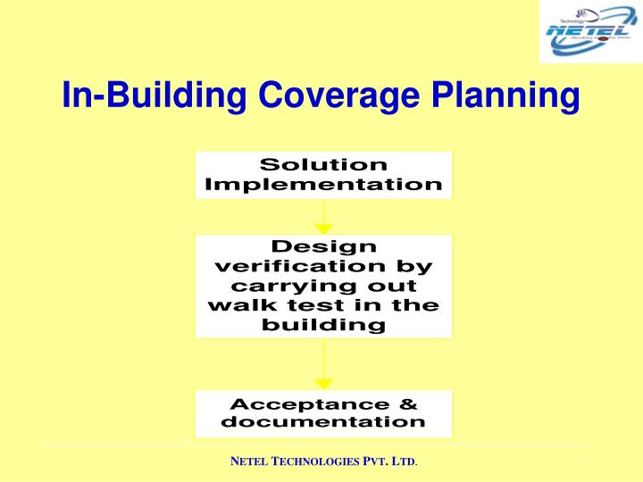 In-Building Coverage Planning
