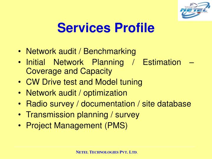 Services Profile