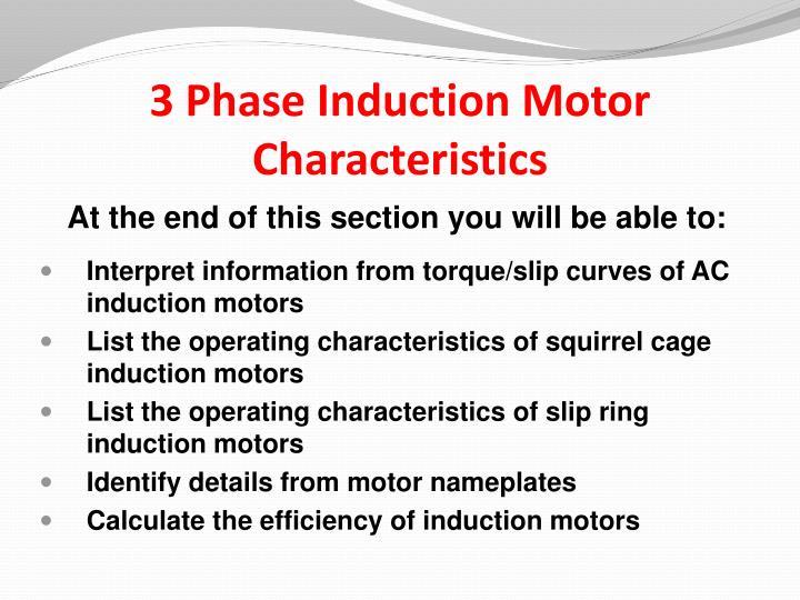 3 phase induction motor basics ppt 28 images 3 phase for Three phase induction motor pdf
