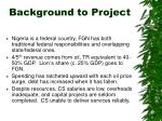 background to project