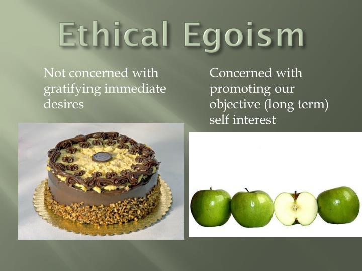 ethical egoism rachels