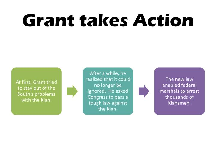 Grant takes Action