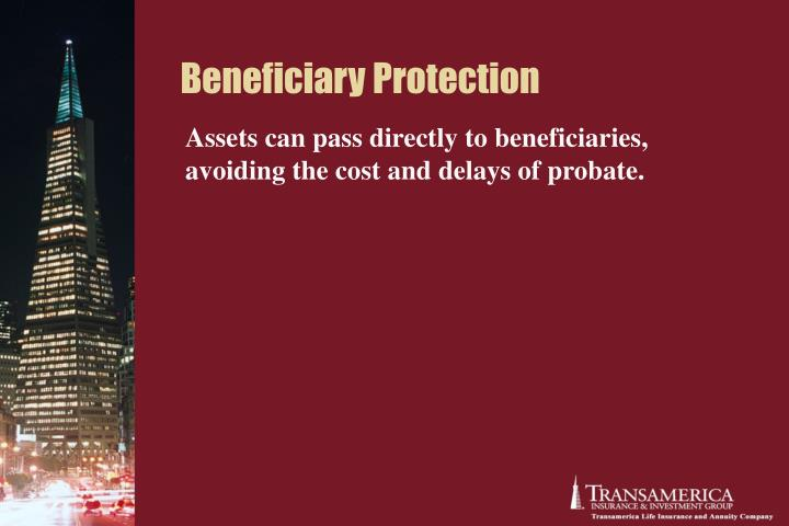 Beneficiary Protection
