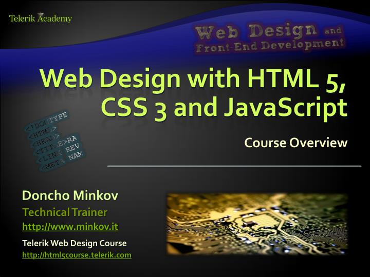 Ppt Web Design With Html 5 Css 3 And Javascript Powerpoint Presentation Id 3147616