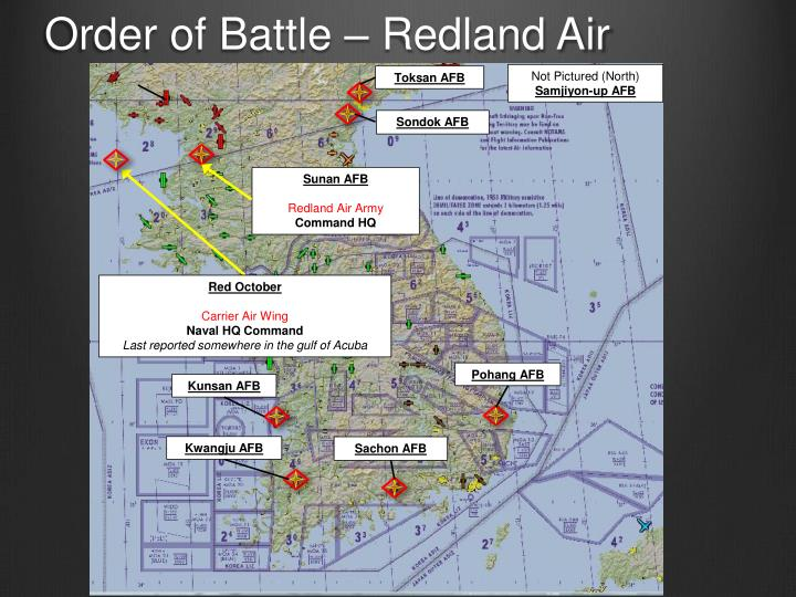 Order of Battle – Redland Air