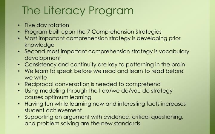 The Literacy Program