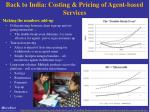 back to india costing pricing of agent based services