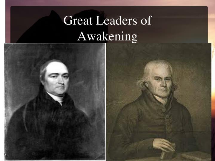 Great Leaders of