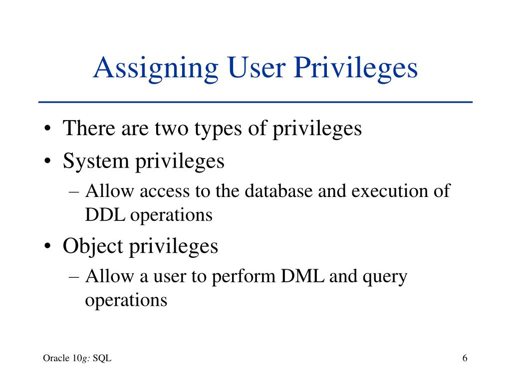 Grant Object Privilege In Oracle Example SQL Tutorial How to