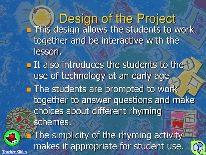 Design of the Project