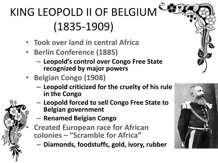 a study of king leopolds rule in congo Download and read king leopolds soliloquy a defence of his congo rule second edition king leopolds soliloquy a defence of his congo rule second edition.