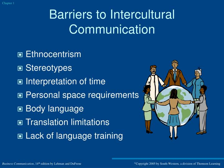 barriers to cross cultural commuinication Conclusion: the available information provided by this review study shows that there is a communication barrier between patients and health care workers such as healthcare workers demonstrate low cultural competency.