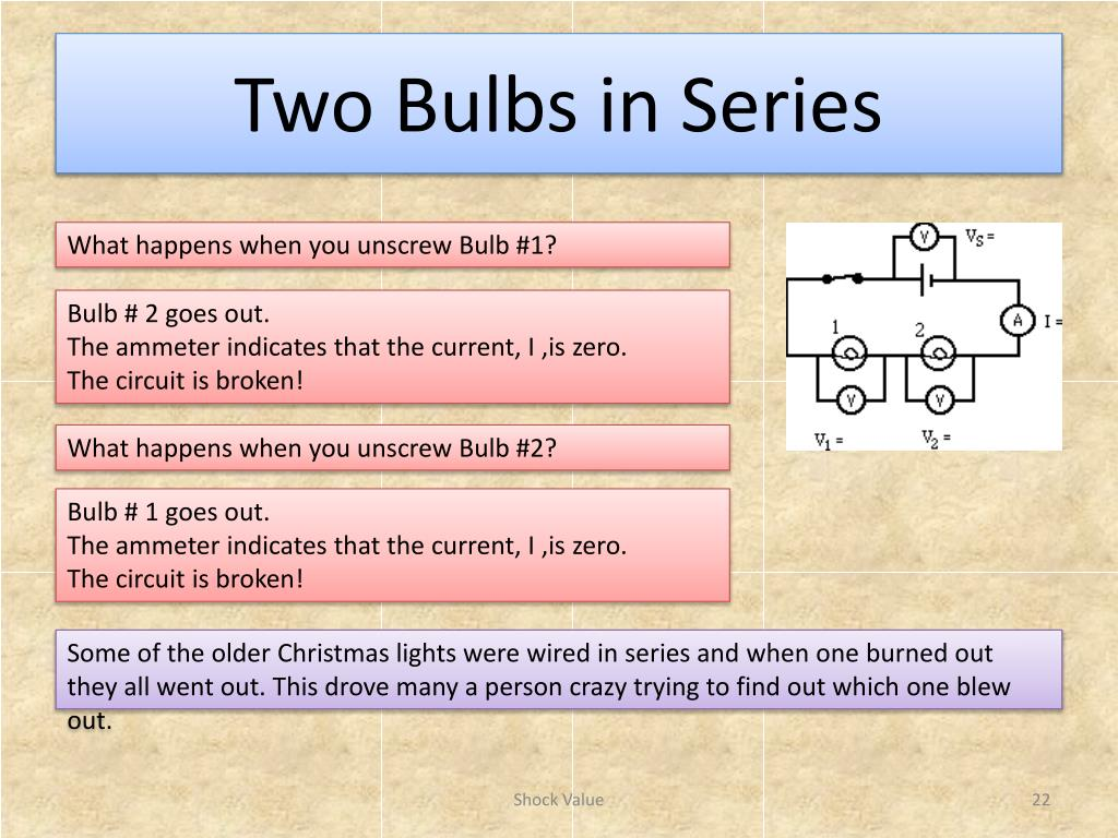 Christmas Lights Series Circuit