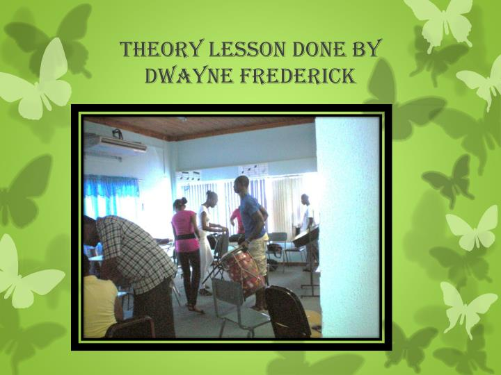 Theory Lesson done by