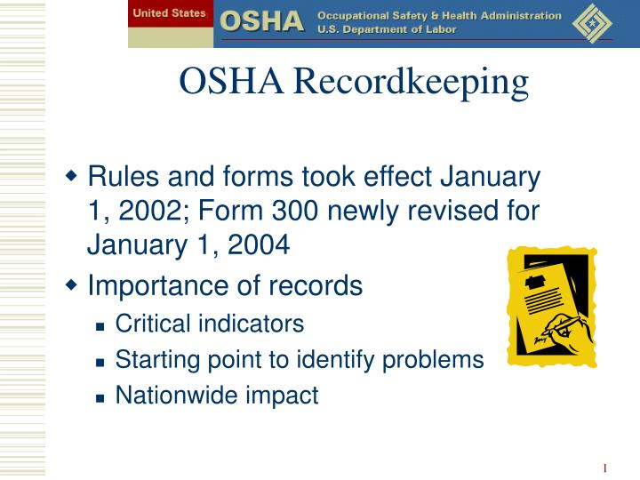 occupational health safety essay Osha research papers explore the occupational safety and health administration and their role in protecting the health of america's worker.