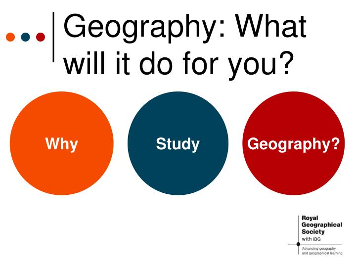 geography what will it do for you n.