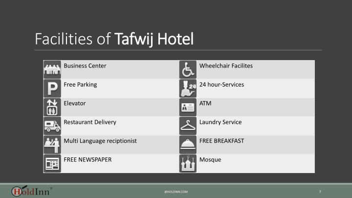 Facilities of