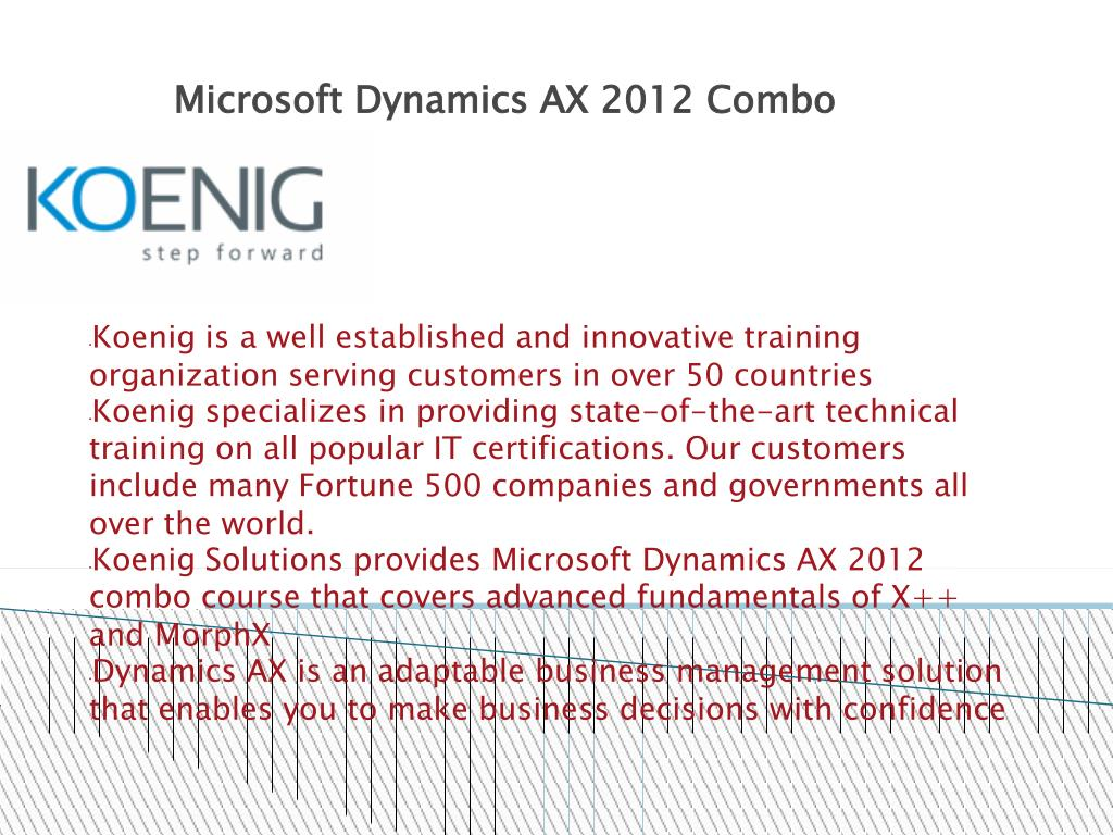 PPT - Microsoft Dynamics AX 2012 Training PowerPoint Presentation