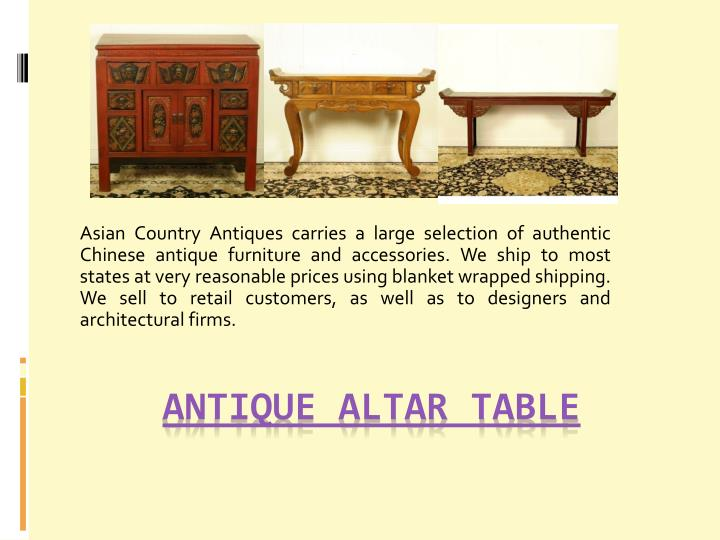 antique altar table n.