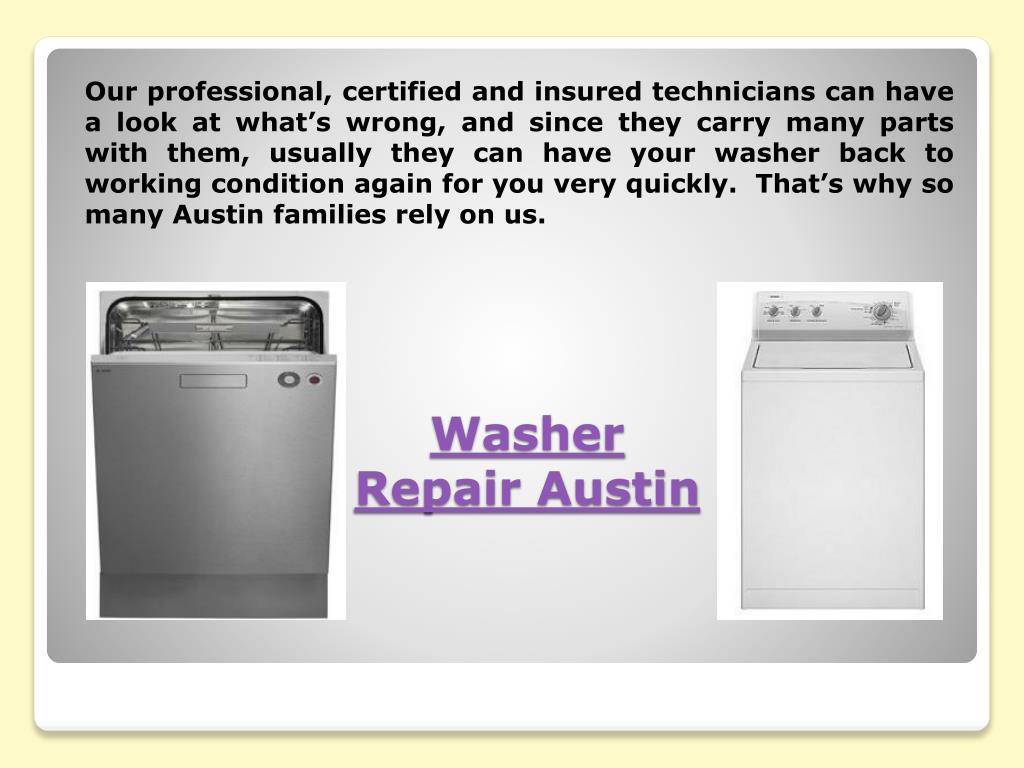 Ppt Dryer Repair Austin Powerpoint Presentation Free