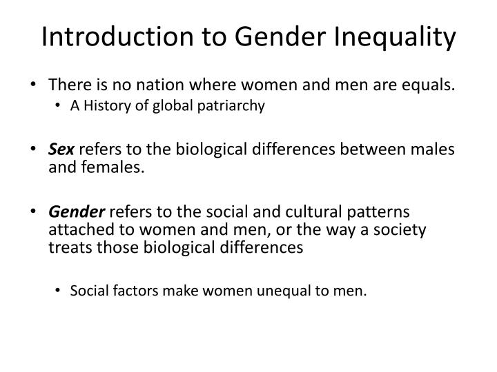 discuss giving examples how patriarchy and capitalism contribute to gender inequality Social conflict theory is a macro-oriented paradigm in sociology that views society as an arena of inequality that generates conflict and social change key elements in this perspective are that.