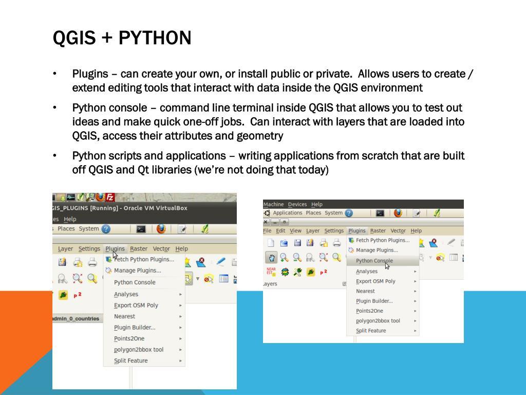 PPT - I ♥ Maps: quantum Gis + Python PowerPoint