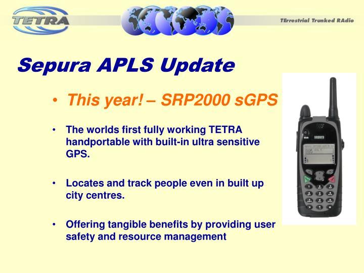 Sepura APLS Update