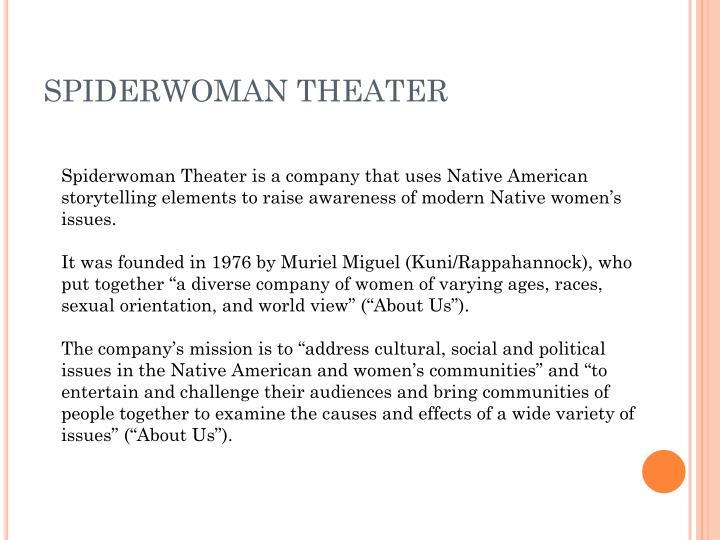 Spiderwoman theater