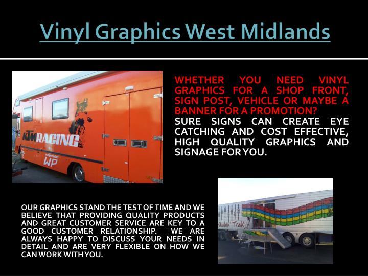 Ppt Vinyl Graphics West Midlands Powerpoint Presentation