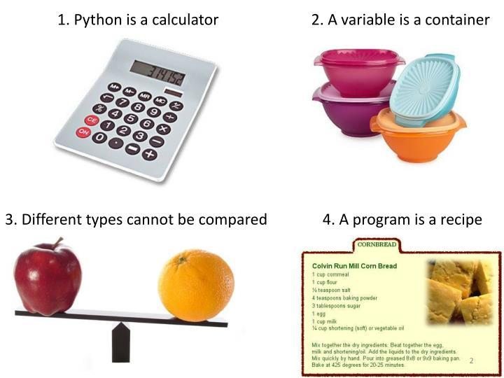 1. Python
